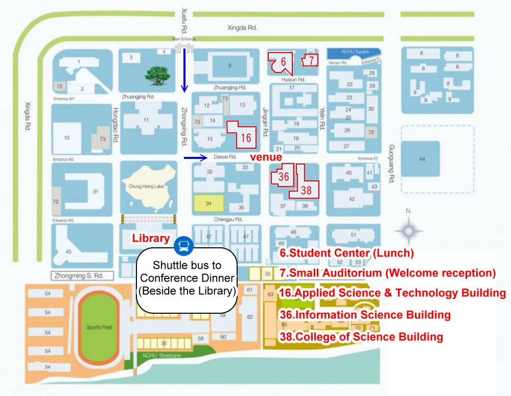 Lu Campus Map.Ecosta 2019 Venue